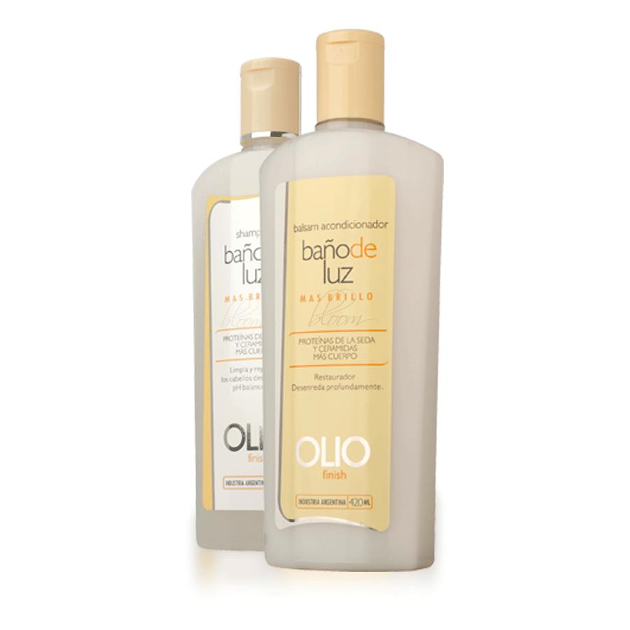 Shampoo y acondicionador ba o de luz de olio sin sodio - Bano de keratina precio ...