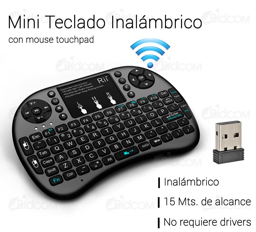 Resultado de imagen para mini teclado wireless